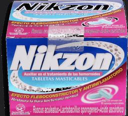 Nikzon Tratamiento de Las Hemorroides Masticables