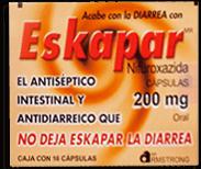 Eskapar Oral 16 Capsulas (200 mg).