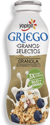 Yoghurt Yoplait Bebible Griego Granola Blueberry Vainilla 220 g