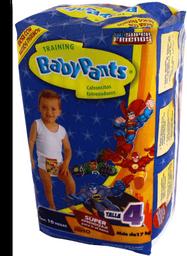 Calzón Entrenador Babypants Niño Talla 4 10 U