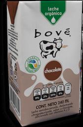 Leche Bové Orgánica Sabor Chocolate 236 mL