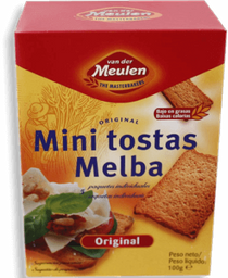 Tostadas Van Der Meulen Mini Original 100 g