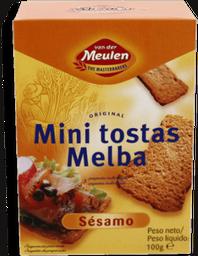 Pan Tostado Melba Van Der Meulen Con Ajonjolí 100 g