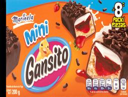 Pastelito Gansito Mini Caja 25 g x 8