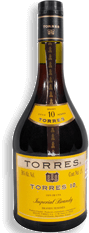 Brandy Imperial Torres 10 Botella 1.5 L