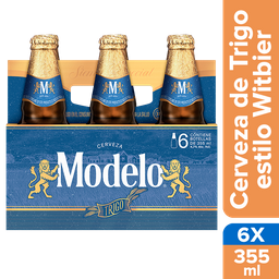 Modelo Trigo Cerveza Botella Pack X 6 u