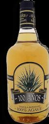 Tequila 100 Años Reposado Azul 1 L
