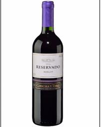Concha Y Toro Vino Tinto Reservado Merlot Botella