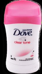 Antitranspirante Dove Clear Tone 50 g