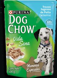 3x2 Alimento Para Perro Purina Dog Chow Trozos Pollo Cachorro 10