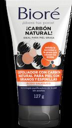 Exfoliante Bioré Facial Carbón Natural Para Piel Grasa 127 g