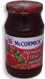 Mermelada McCormick Fresa 450 g