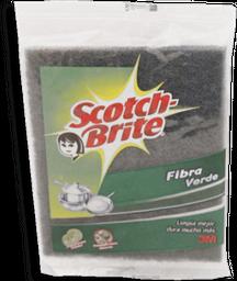 Lavatrastes Scotch Brite Fibra Verde 1 U