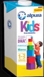 Fórmula Láctea Alpura Kids Crecimiento 1 a 3 Años 1 L