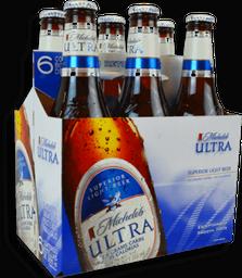 Cerveza Michelob Ultra Superior Light Beer Botella 355 mL x 6