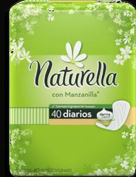 Pantiprotectores Naturella Con Manzanilla Diarios 40 U