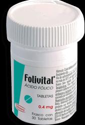 Folivital 30 Tabletas (.4 mg)