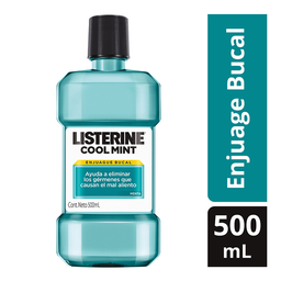 Enjuague Bucal Listerine Cool Mint 500 Ml