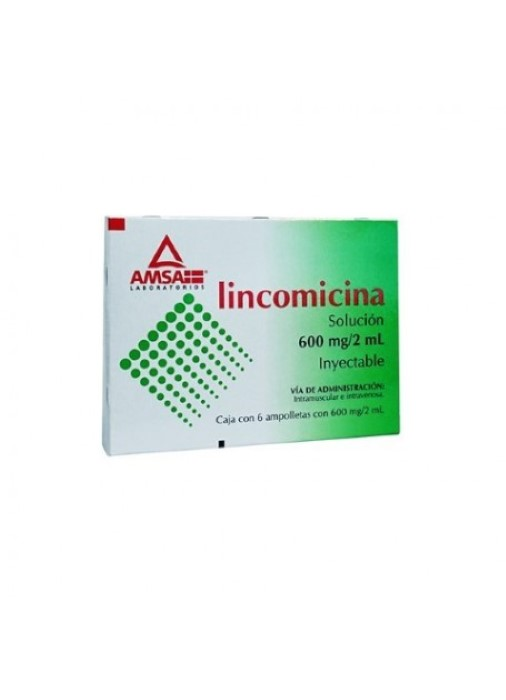 Comprar Lincomicina solución inyectable