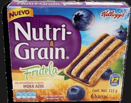 Barra de Cereal  Nutri Graín Frutela Sabor Mora 222 g