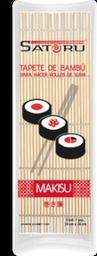 Tapete de Bambú Satoru Makisu Para Sushi 1 U