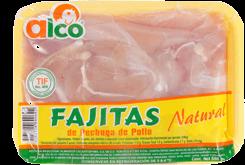Fajitas de Pechuga de Pollo Alco 500 g