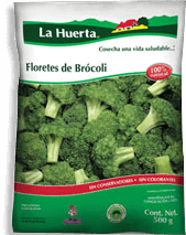 La Huerta Floretes de Brócoli Congelados