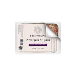 Arrachera De Pavo Dos Familias Sabor Mezquite Pimienta 500 g