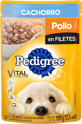 Alimento Para Perro Pedigree Cachorro Pollo en Filetes 100 g