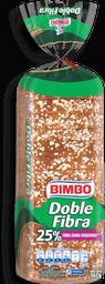 Pan de Caja Bimbo Integral Doble Fibra 567 g