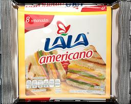 Queso Americano Lala en Rebanadas 144 g