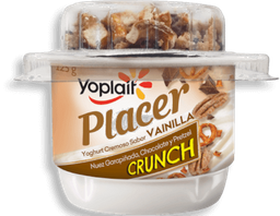 Yoghurt Yoplait Placer Crunch Sabor Vainilla 125 g
