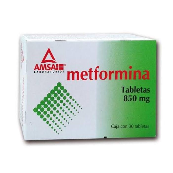 Comprar Gpp Amsa Metformina 850 Mg