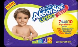 Kleen Bebé Panales Absorsec Ultra Jumbo