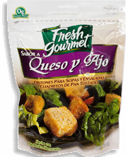 Crutones Fresh Gourmet Queso y Ajo 142 g