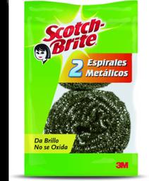 Fibra Espiral Metálica Scotch Brite 2 U