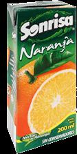 Jugo de Frutas Sonrisa Naranja 200 mL