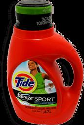 Detergente Tide he Sport Febreze 1.36 L