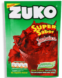 Saborizante Para Agua Zuko Jamaica 15 g