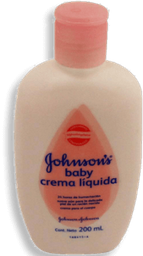 Crema Liquida Johnson's Baby Rosa 200 mL