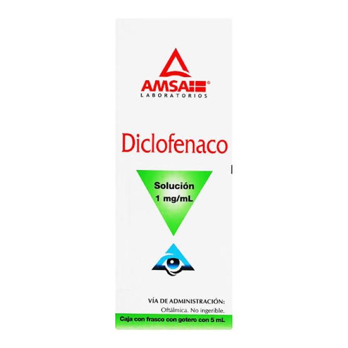 Comprar Diclofenaco Sol. Oft. 1 Mg/5Ml