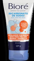 Exfoliante Facial Bioré Con Bicarbonato de Sodio 127 g