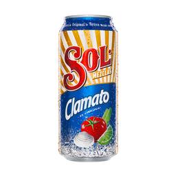 Cerveza Sol Clamato Lata 473 mL