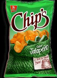 Botanas Chip's Papas Jalapeño 100 g