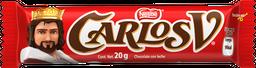 Chocolate Carlos V Clásico Barra 20 g