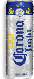 Cerveza Corona Light Clara Lata 355 mL