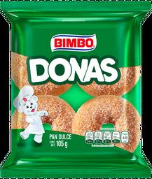 Pan Dulce Donas Bimbo Azucaradas 105 g