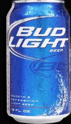 Cerveza Bud Light Lata 355 mL