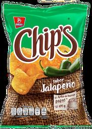 Papas Chip's Jalapeño 170 g