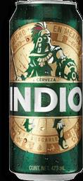 4 Pack Cerveza Indio Lata 473 mL